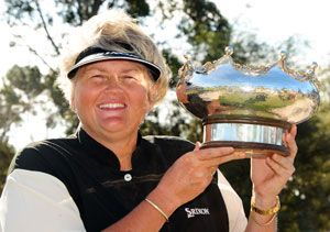 Laura Davies - winner of the 2009 Women's Australian Open